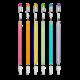 Ooly Stay Sharp Rainbow: Graphite Pencils (Set of 6)