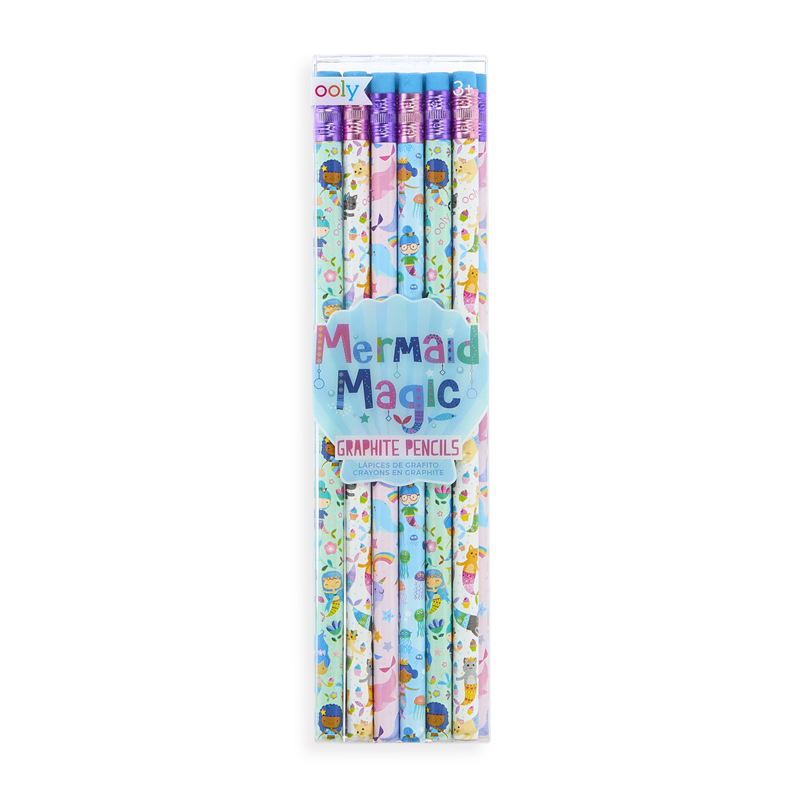 Ooly Mermaid Magic Graphite Pencil Set (of 6)