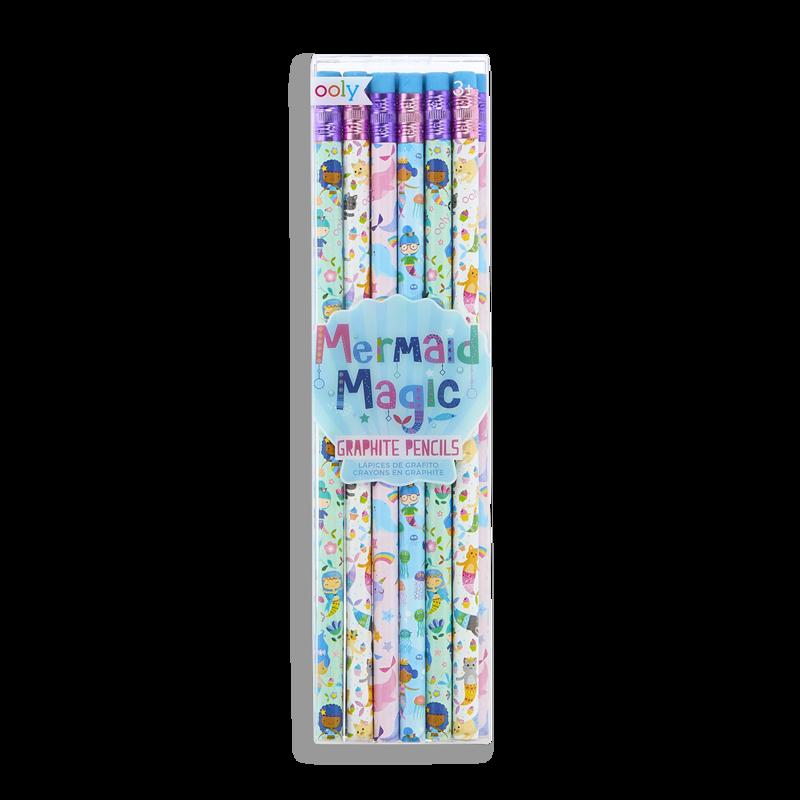 Ooly Mermaid Magic Graphite Pencil Set