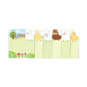 Ooly Note Pals Sticky Tabs: Alpaca Farm
