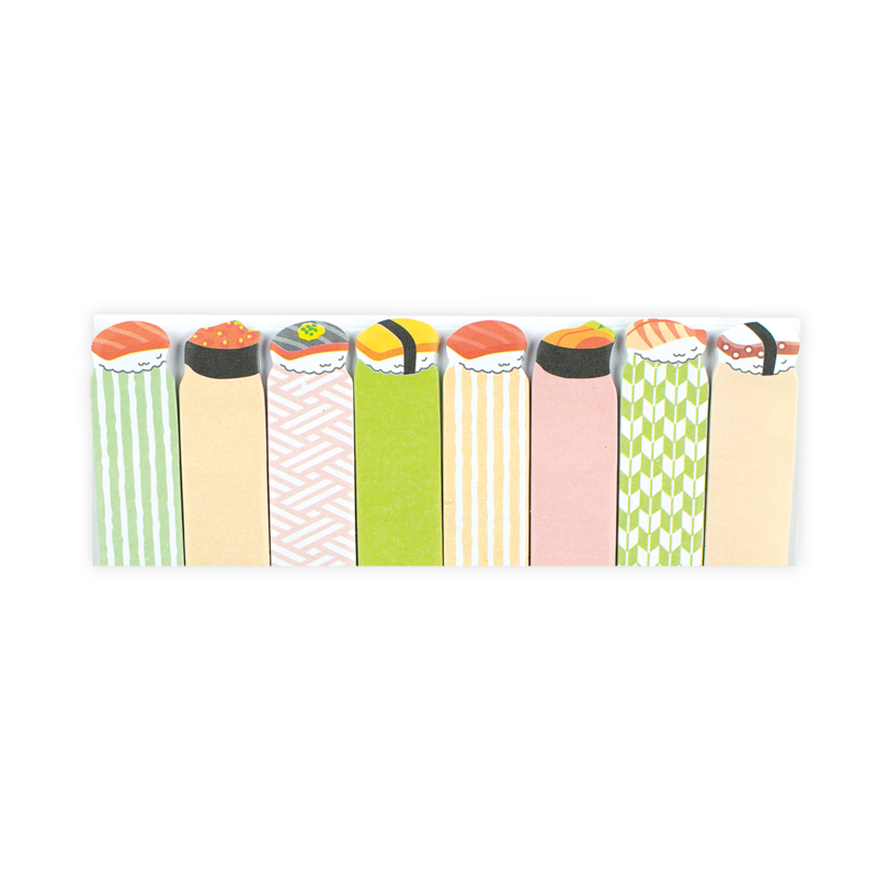 Ooly Note Pals Sticky Tabs: Savory Sushi