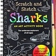 Scratch and Sketch: Sharks