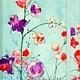 Fuchsia Blooms Journal
