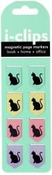 I-Clip Magnetic Page Markers: Black Cats