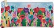 Brilliant Floral Pencil Pouch