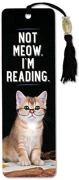 Not Meow. I'm Reading (Beaded Bookmarks)