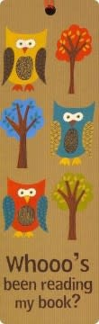 Owls (Beaded Bookmark)