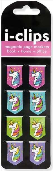 i-Clips Magnetic Page Markers: Unicorns