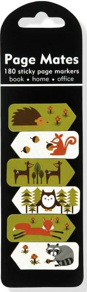 Page Mates Sticky Notes: Woodland Friends (Set of 6 Mini-Pads)