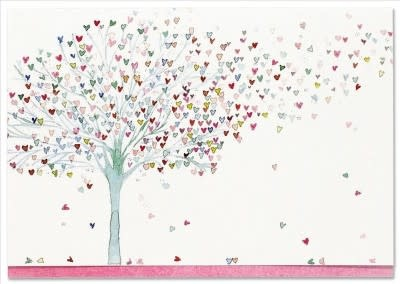 Tree of Hearts (14 Boxed Notecards)