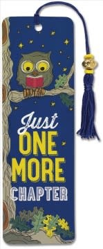 Just One More Chapter (Beaded Bookmark)