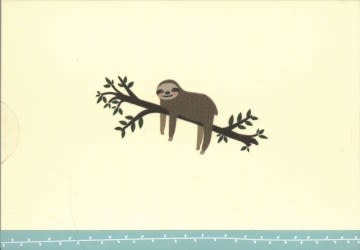 Sloth Note Cards