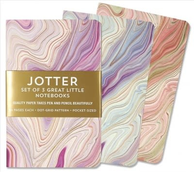 Jotter Notebooks: Agate (Dot-Grids) (Set of 3)