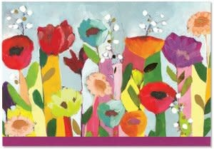 Brilliant Floral (14 Boxed Notecards)