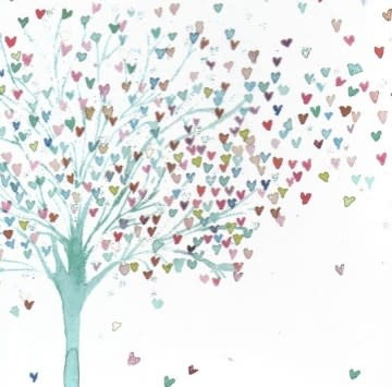 Tree of Hearts Desk Notes