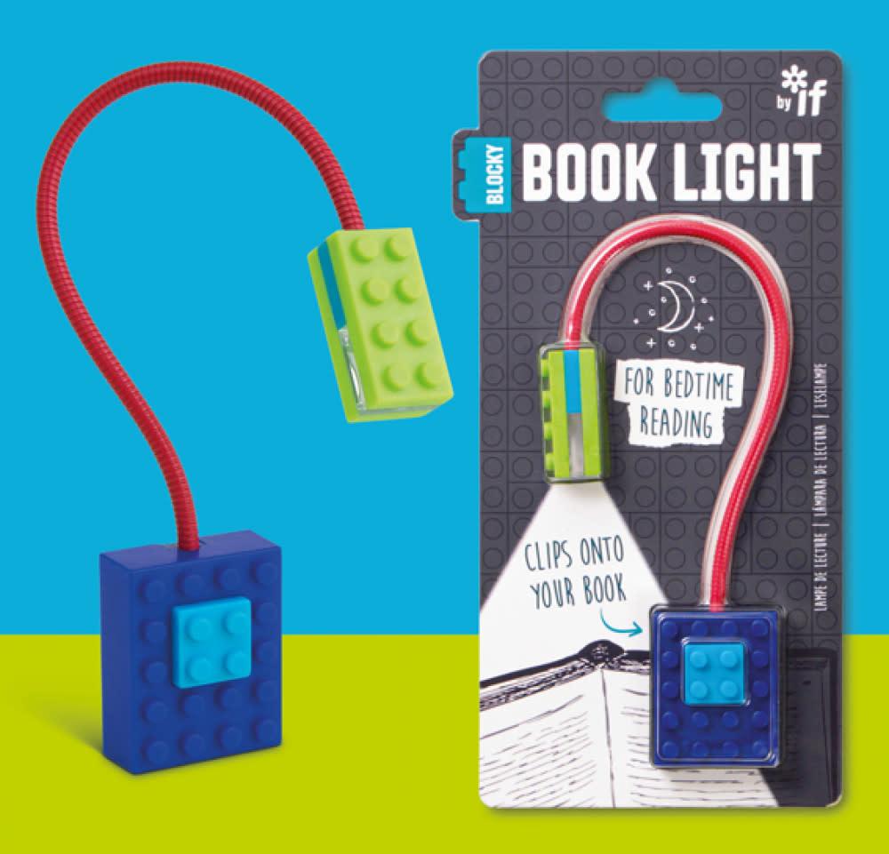 Blocky Book Light (Blue)
