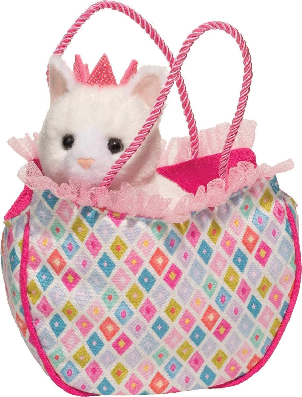 Sassy Pet Sak: Diamond Kitty (with White Kitten Plush)