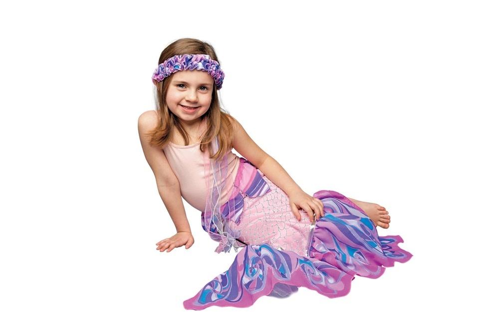 DreamyFins: Pink Mermaid Costume Tail
