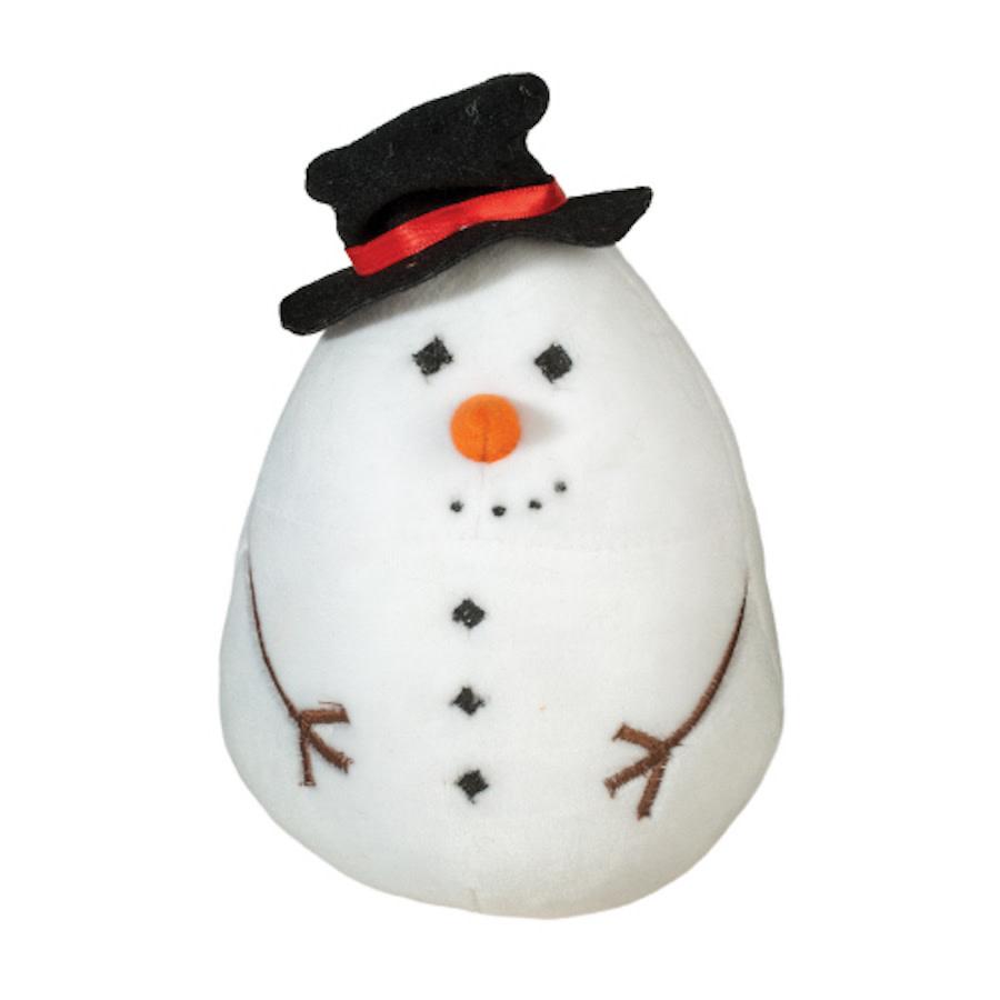 """Crispin Snowman (7"""" tall w/ hat)"""