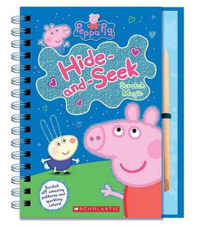 Scholastic Inc. Peppa Pig: Hide-and-Seek: Scratch Magic