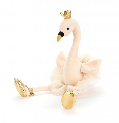 Fancy Swan (Medium Plush)