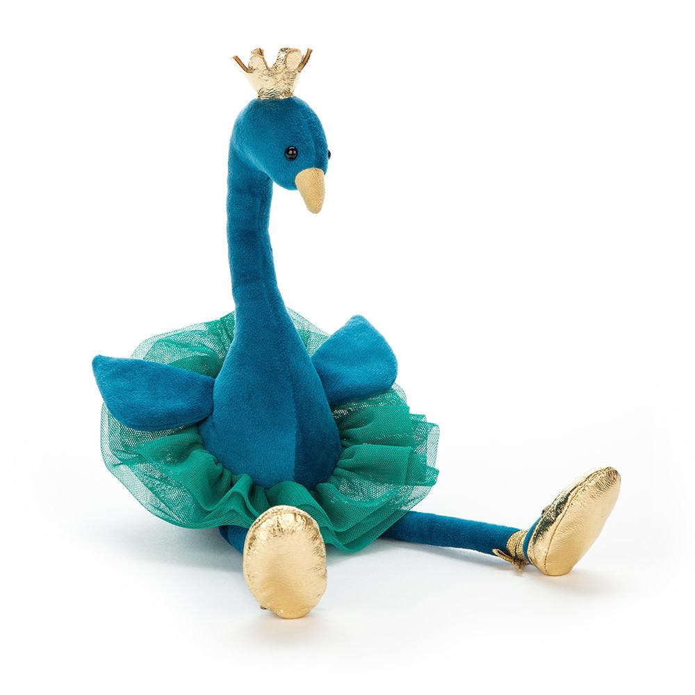 Fancy Peacock (Medium Plush)
