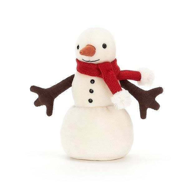 Merry Snowman (Red Scarf)
