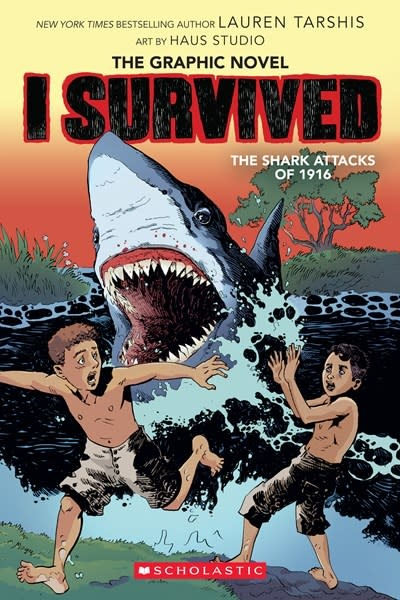 Graphix I Survived the Shark Attacks of 1916 (I Survived Graphic Novel #2):  A Graphix Book
