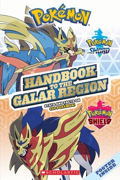 Scholastic Inc. Galar Region Handbook (Pokemon)