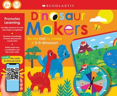 Cartwheel Books Dinosaur Makers: Scholastic Early Learners (Learning Game)