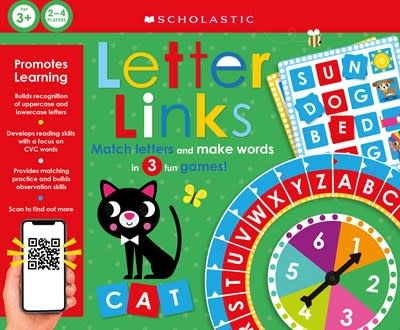 Cartwheel Books Letter Links: Scholastic Early Learners (Learning Game)