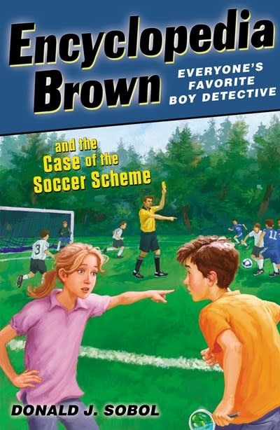 Encyclopedia Brown 28 Case of the Soccer Scheme