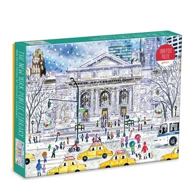 Galison Michael Storrings New York Public Library 1000 Pc Puzzle