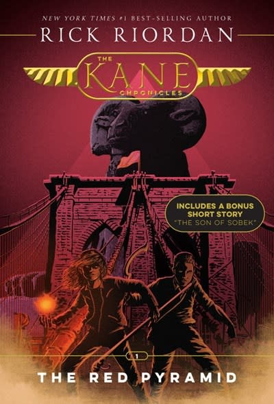 Disney-Hyperion Kane Chronicles 01 The Red Pyramid (New Cover)