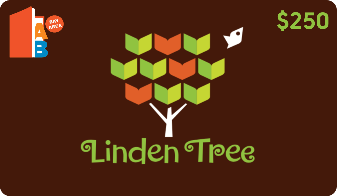 Linden Tree Books $250 Access Books Bay Area Donation