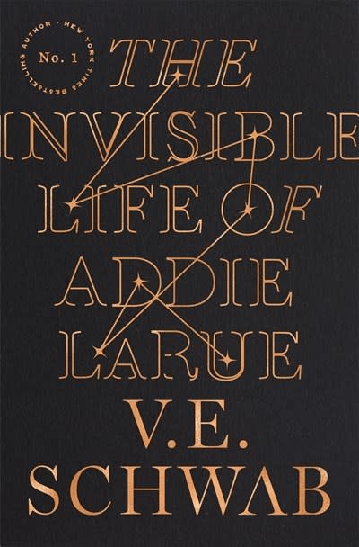 Tor Books The Invisible Life of Addie LaRue