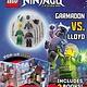 Sourcebooks Wonderland Ninja Mission: Garmadon vs. Lloyd