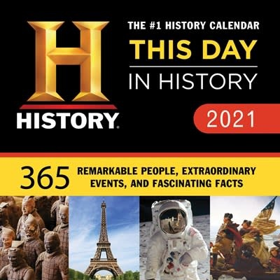 Sourcebooks 2021 History Channel This Day in History Boxed Calendar