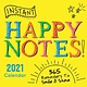 Sourcebooks 2021 Instant Happy Notes Boxed Calendar