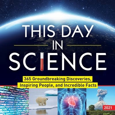 Sourcebooks 2021 This Day in Science Boxed Calendar