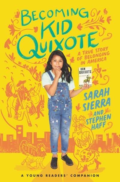 HarperCollins Becoming Kid Quixote: A True Story of Belonging in America