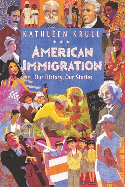 HarperCollins American Immigration: Our History, Our Stories