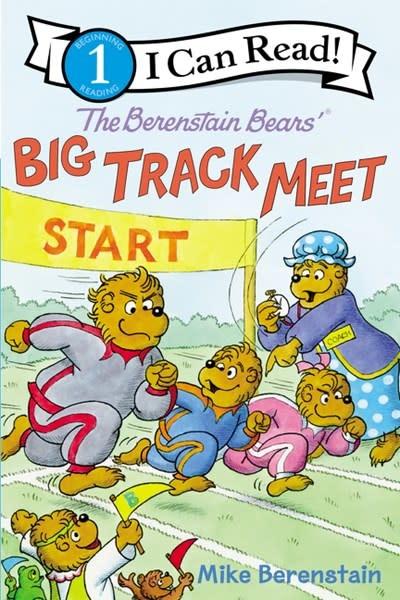 HarperCollins Berenstain Bears: Big Track Meet (I Can Read!, Lvl 1)