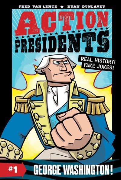 HarperAlley Action Presidents #1: George Washington!