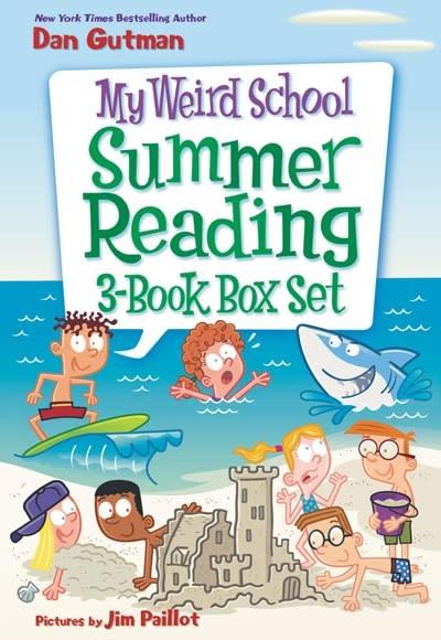 HarperCollins My Weird School Summer Reading Boxed Set (3 Books)