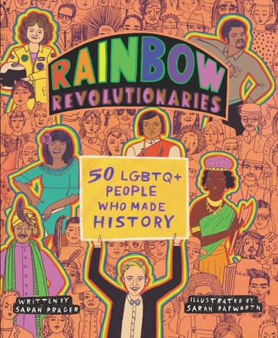 HarperCollins Rainbow Revolutionaries: 50 LGBTQ+ People Who Made History