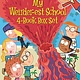 HarperCollins My Weirder-est School 4-Book Boxed Set