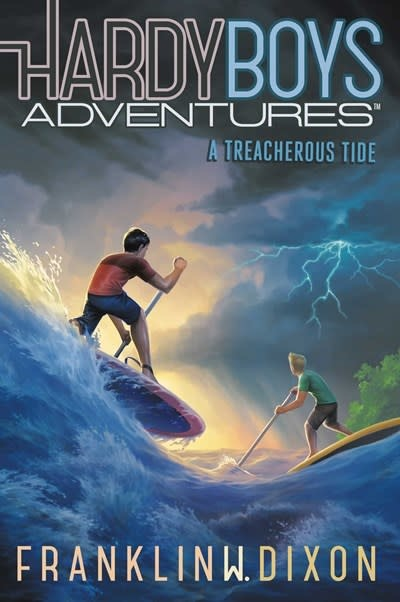 Aladdin Hardy Boys Adventures: A Treacherous Tide