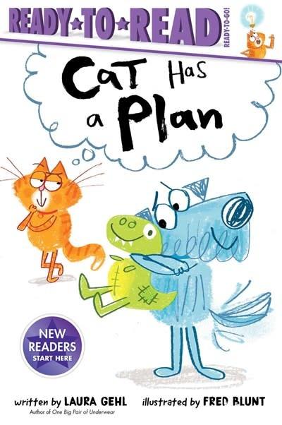 Simon Spotlight Cat Has a Plan (Ready-to-Read Phonics Reader)