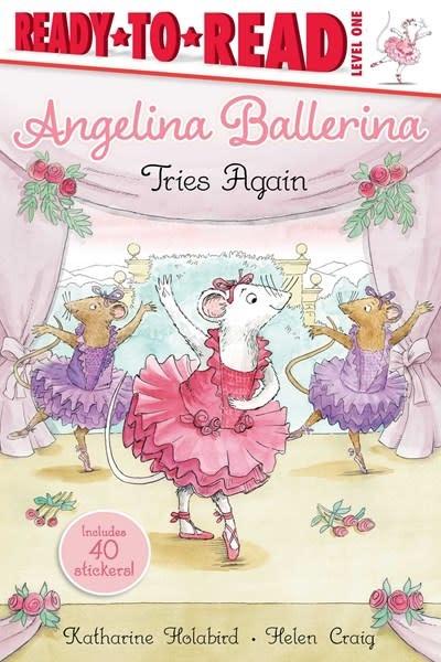 Simon Spotlight Angelina Ballerina Tries Again